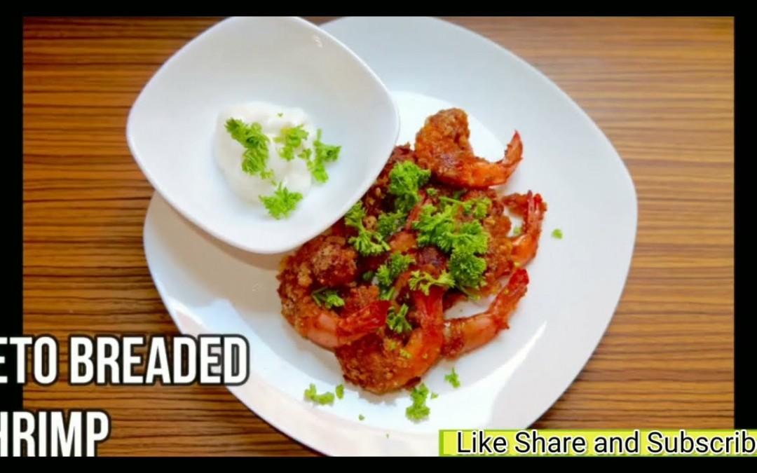 Keto Breaded Shrimp | Easy Keto Recipes | Keto Diet For Beginners