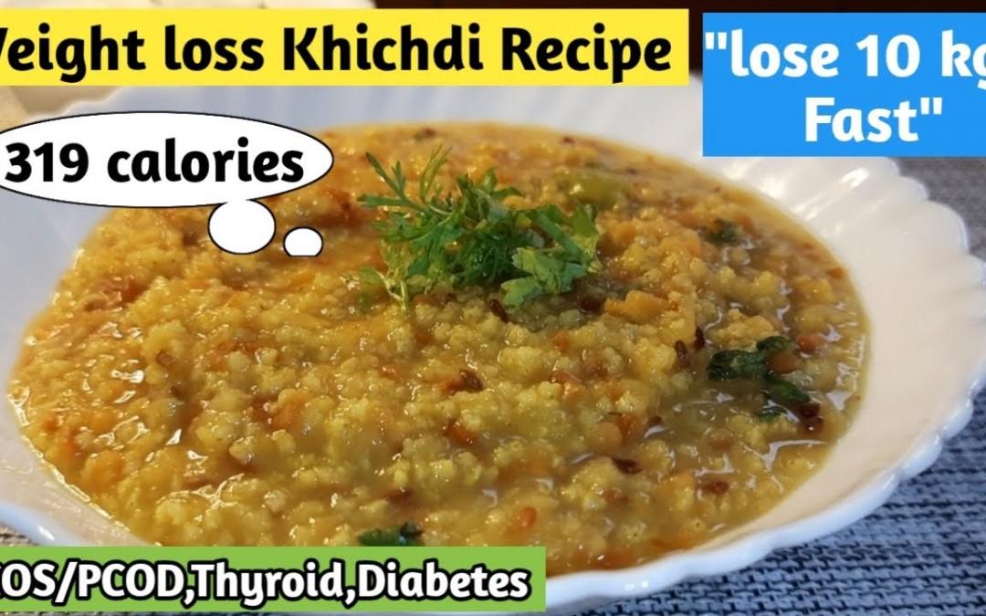 Breakfast/Dinner recipe for weight loss | Weight loss Khichdi recipe | Foxtail millet recipe