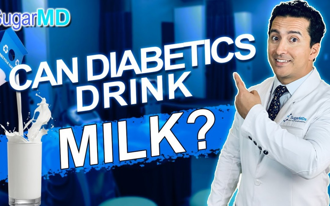 Can Diabetics Drink Milk?  SugarMD