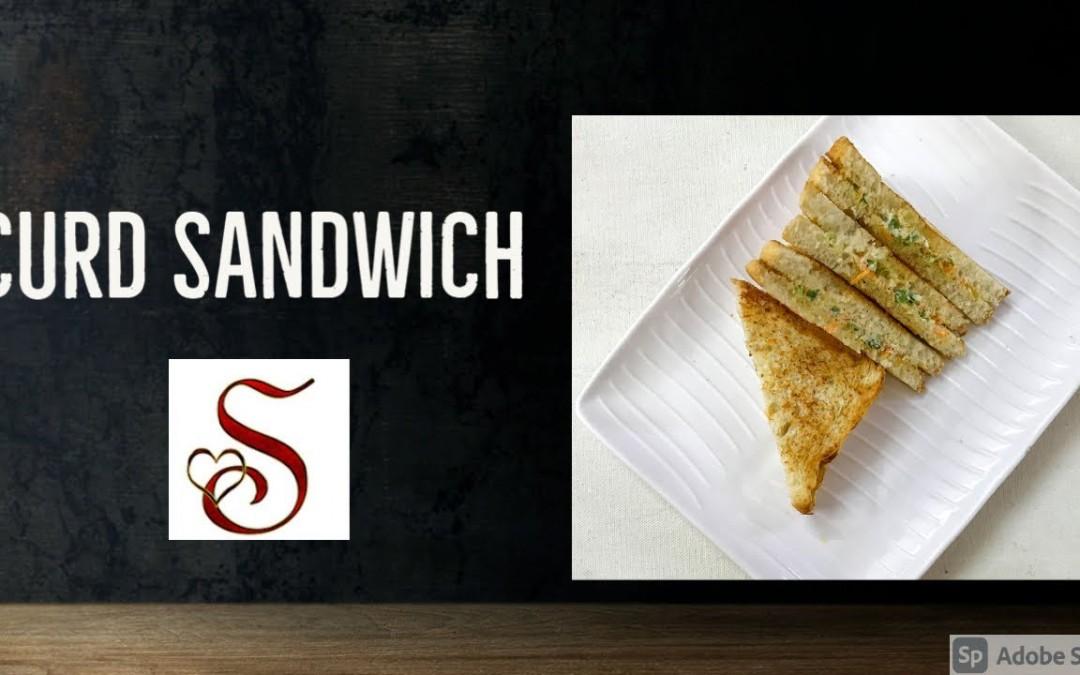 Curd Sandwich   Sandwich recipes  Healthy sandwich recipes   Hung curd sandwich   Snacks recipes