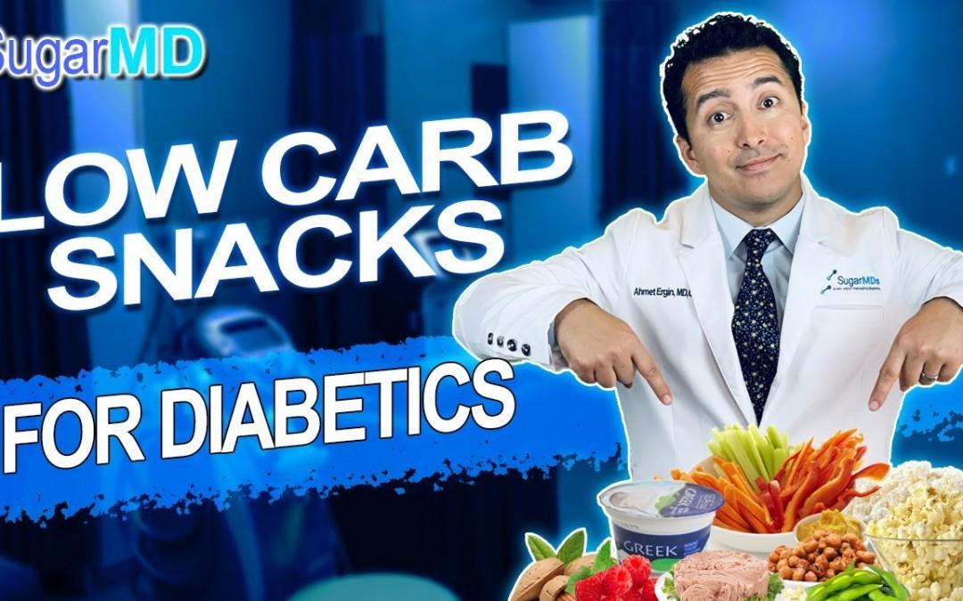 Diabetic LOW CARB SNACKS for to keep blood sugar stable in diabetic diet.