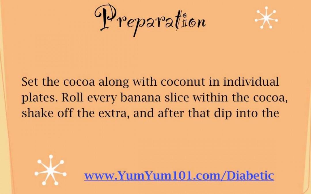 "Diabetic Recipes | Crazy For ""Cocoa-Nut"" Bananas"