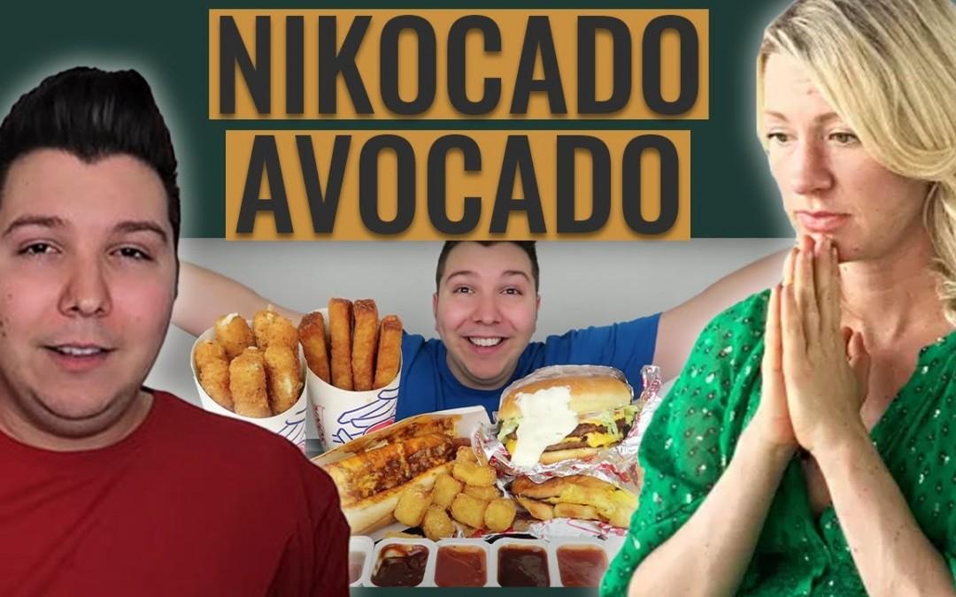 Dietitian Reviews NIKOCADO AVOCADO | Raw Vegan to Daily Mukbangs (Honestly, This Was Hard to Watch)