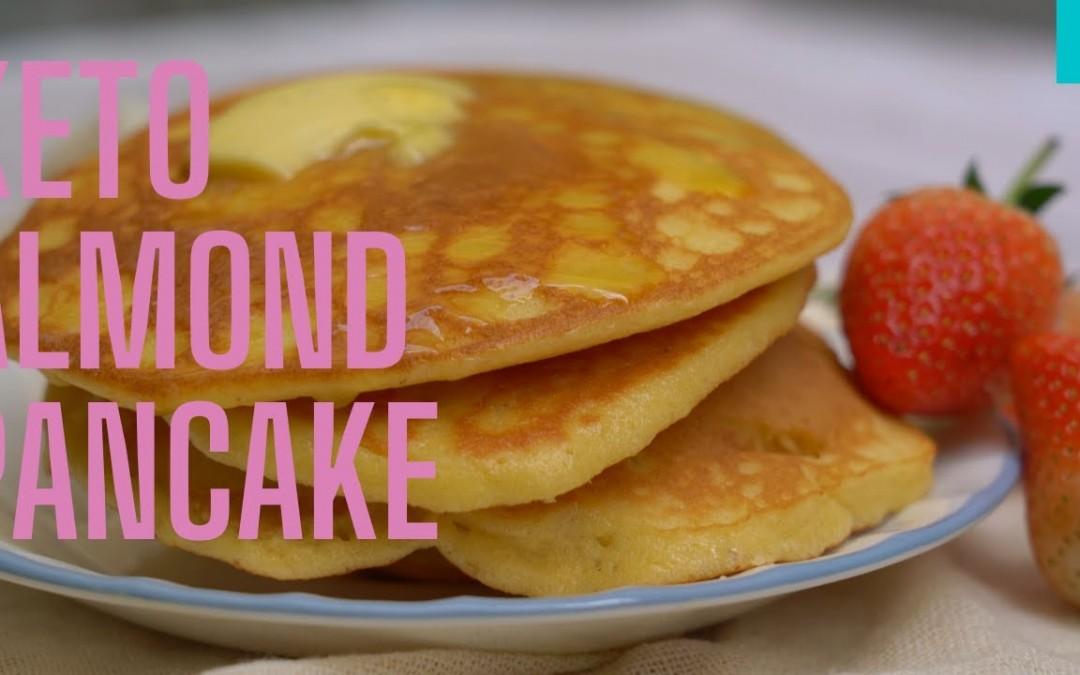 Easy Keto Almond Flour Pancake Recipe | Keto & Low carb