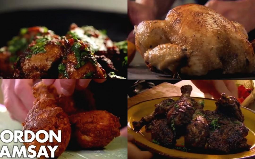 Gordon Ramsay's Top 5 Chicken Recipes