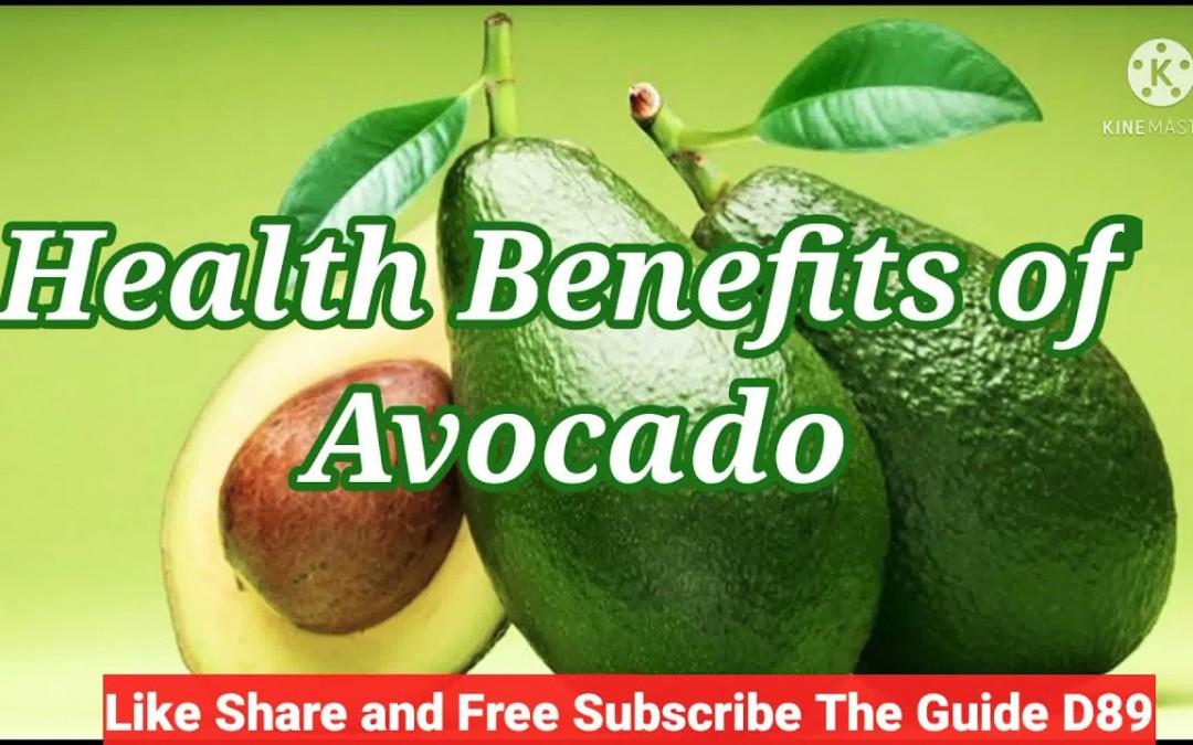 Health Benefits of Avocado !!!! Good For Healthy Skin