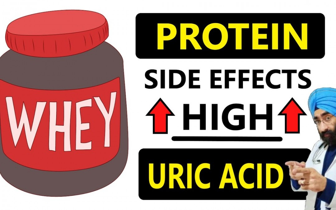 High Protein Diet & Uric acid Problem Solution   Whey Protein side effects   Dr.Education