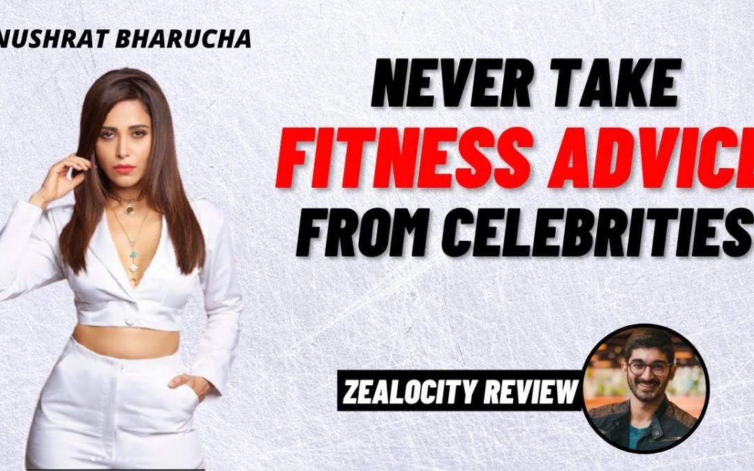 "Nushrat Bharucha's ""Diet Tips"" | NEVER TAKE NUTRITION/FITNESS ADVICE FROM CELEBS!"