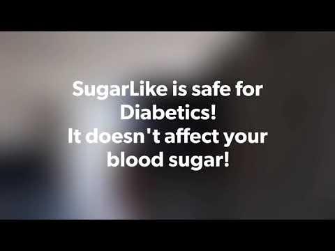SugarLike is safe for Diabetics!!! SugarLike is the perfect diabetic sweetener