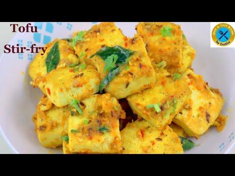 Tofu Stir fry | Diabetic friendly meal | Stir fried Tofu | Quick & Tasty Kitchen by Geetha |