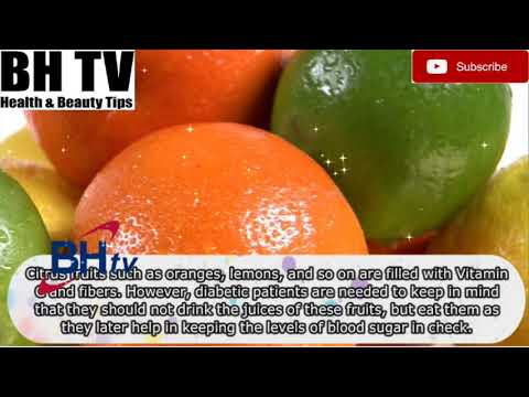 Top 10 Diabetic Diet Foods By BH TV HEALTH AND BEAUTY TIPS